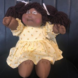 Vintage African American Cabbage Patch Kids Doll